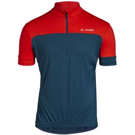 VAUDE Mossano V T-Shirt Men, azul/rojo